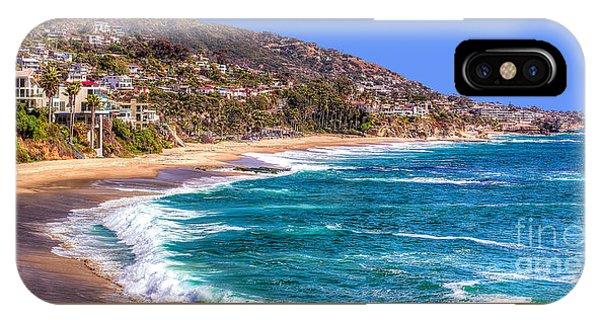 South Laguna Beach Coast IPhone Case