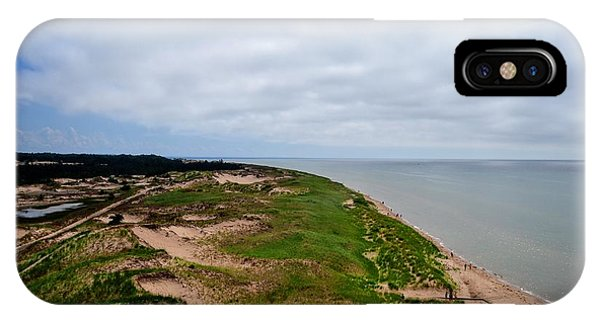 Michelle iPhone Case - South Of Big Sable Point by Michelle Calkins