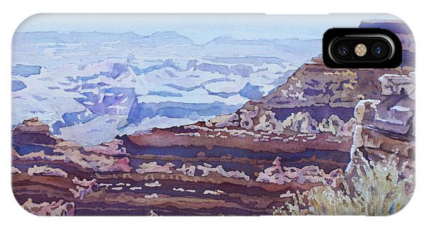 Grand Canyon iPhone Case - South Rim Color by Jenny Armitage