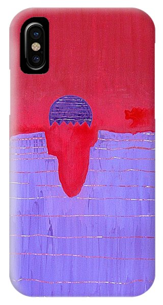 South Rim Sun Original Painting IPhone Case