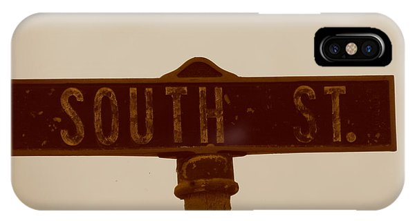 South Street IPhone Case