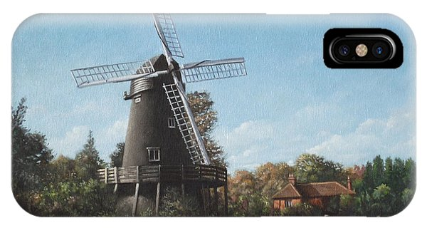Southampton Bursledon Windmill IPhone Case