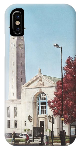 Southampton Civic Center Public Building IPhone Case