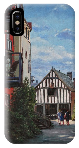 Southampton Medieval Merchant House From High St IPhone Case