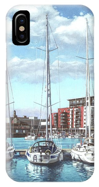 Southampton Ocean Village Marina IPhone Case