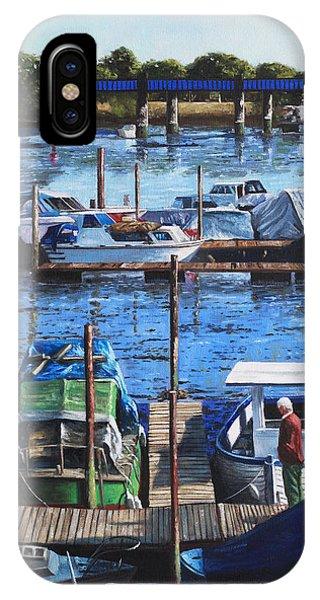 Southampton River Itchen From Cobden Bridge IPhone Case