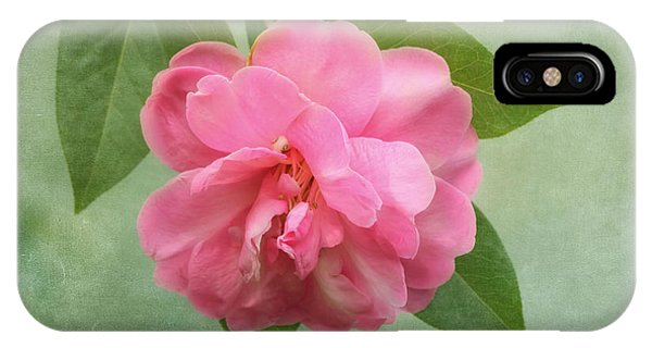 Southern Camellia Flower IPhone Case