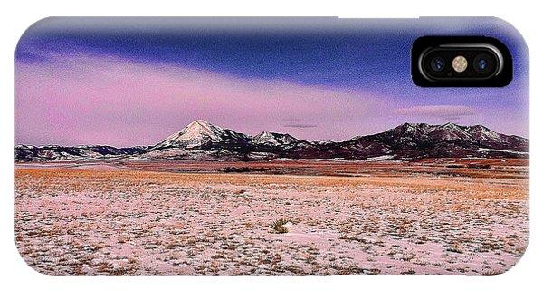 Southern Colorado Mountains IPhone Case