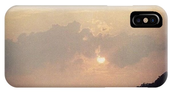 Sunset iPhone Case - Southern Indiana Sunset by Jill Tuinier