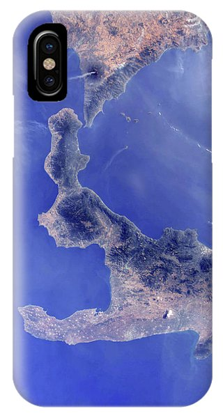Etna iPhone Case - Southern Italy by Nasa