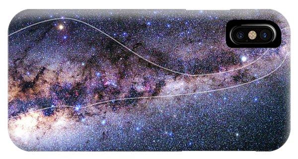 Emu iPhone Case - Southern Milky Way by Babak Tafreshi
