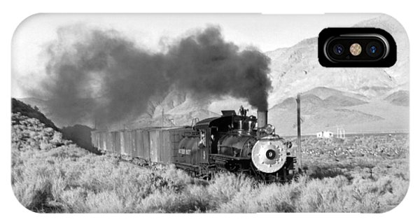 Southern Pacific Locomotive IPhone Case