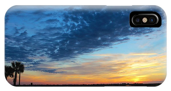 Southern Sky Phone Case by Lisa Campbell