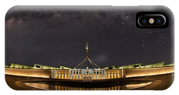 Southern Sky Parliament House  Phone Case by Andrew Prince