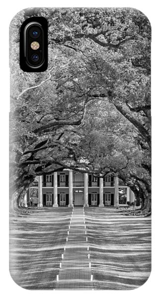 Southern Time Travel Bw IPhone Case
