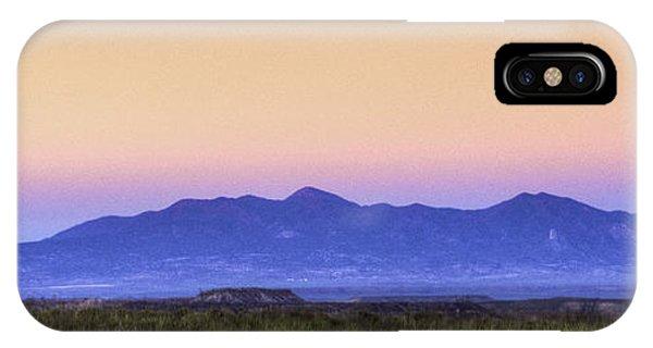Southern Utah Sunset IPhone Case