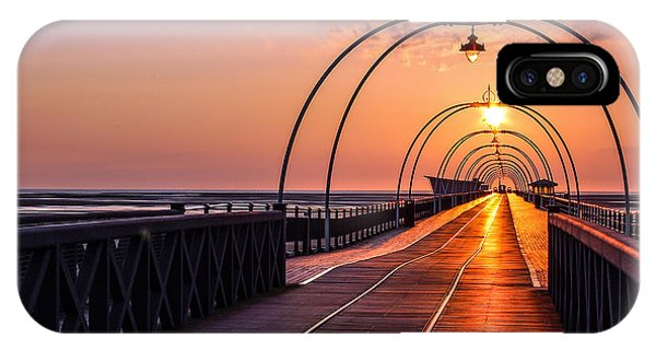Southport Pier Phone Case by Paul Madden