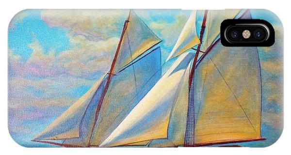 Southward Sail IPhone Case