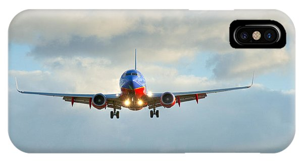 Southwest Airline Landing Gear Down IPhone Case