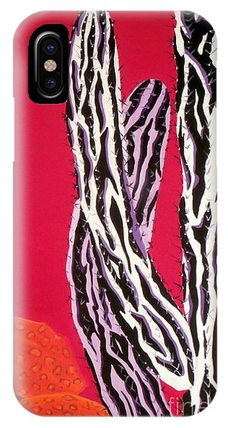 Southwest Contemporary Art - The Wild Wild West IPhone Case