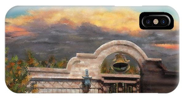 Southwestern Monsoon Sunset Phone Case by Judy Filarecki