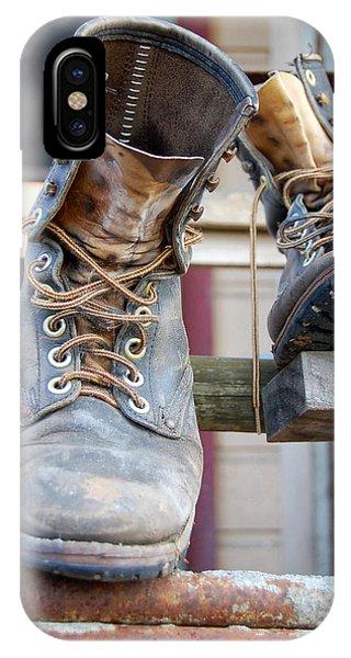 Sp Boots IPhone Case