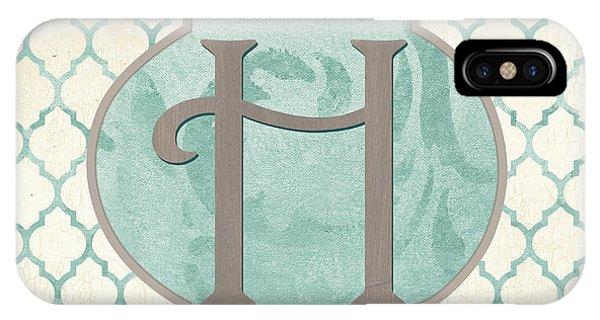 Spa iPhone Case - Spa Monogram by Debbie DeWitt