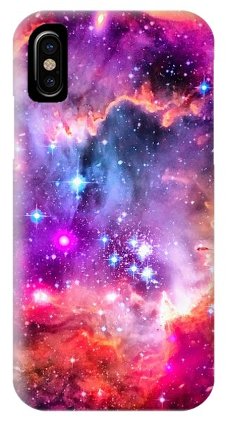 Space Image Small Magellanic Cloud Smc Galaxy IPhone Case