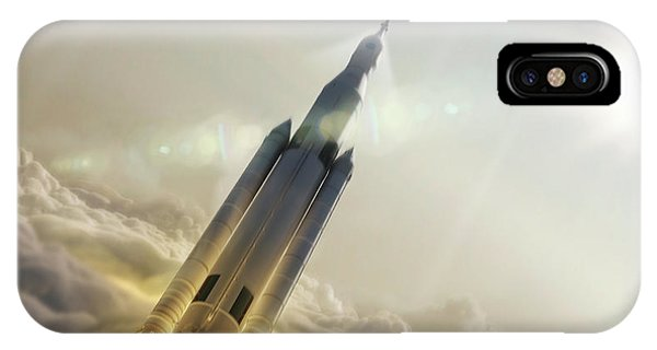 Space Launch System Launch Phone Case by Nasa/msfc