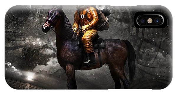 Space iPhone Case - Space Tourist by Vitaliy Gladkiy