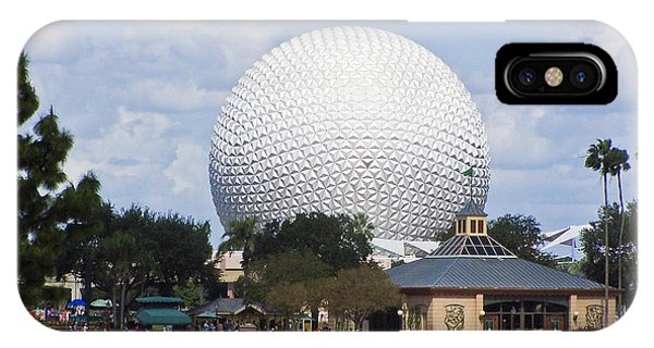 Spaceship Earth At Epcot IPhone Case