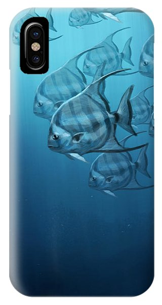 Spade Fish IPhone Case