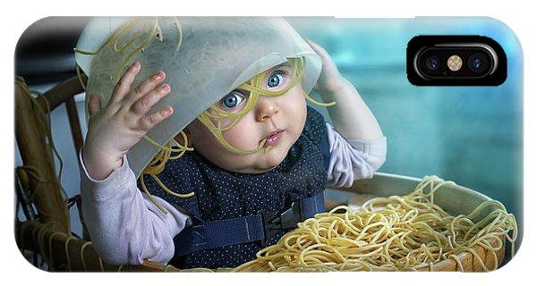 Spaghettitime IPhone Case