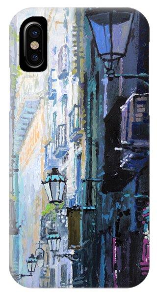 Barcelona iPhone Case - Spain Series 06 Barcelona by Yuriy Shevchuk