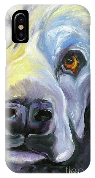 Spaniel In Thought IPhone Case