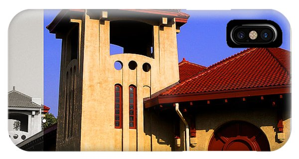 Spanish Architecture Tile Roof Tower IPhone Case