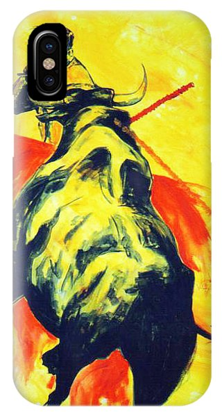 Spanish Bullfight IPhone Case