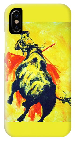 Spanish Bullfight IPhone Case