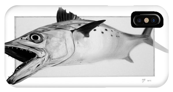 Spanish Mackerel - Pencil IPhone Case