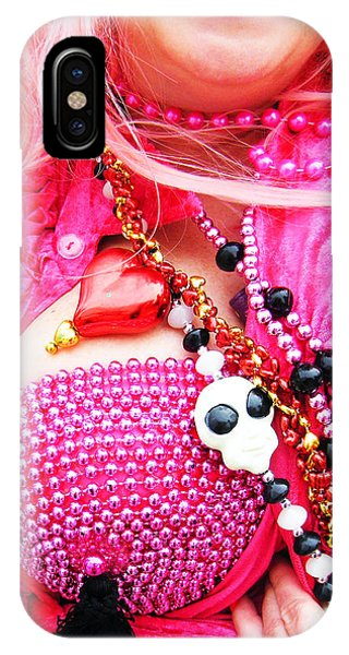 Spanish  Mardi Gras Parade Finery Louisiana IPhone Case
