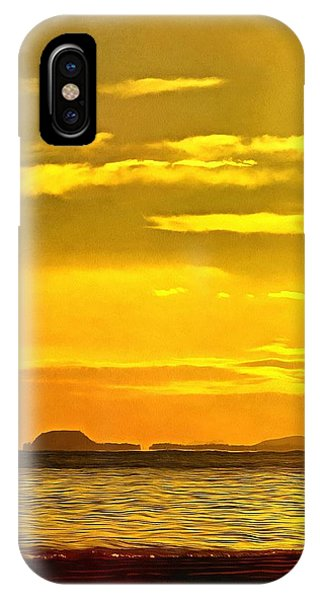 Spanish Marine Sunset IPhone Case