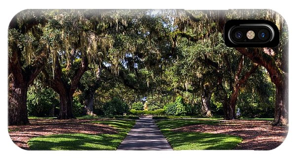IPhone Case featuring the photograph Spanish Moss 2 by Mel Steinhauer