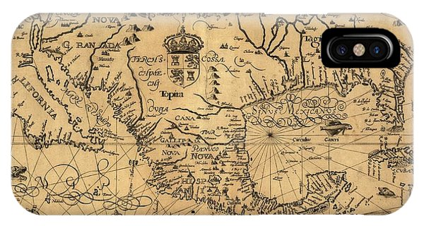 North London iPhone Case - Spanish North America by Library Of Congress/science Photo Library
