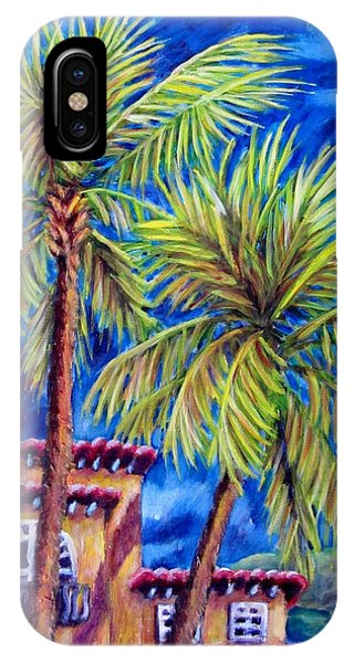 Spanish Palms IPhone Case