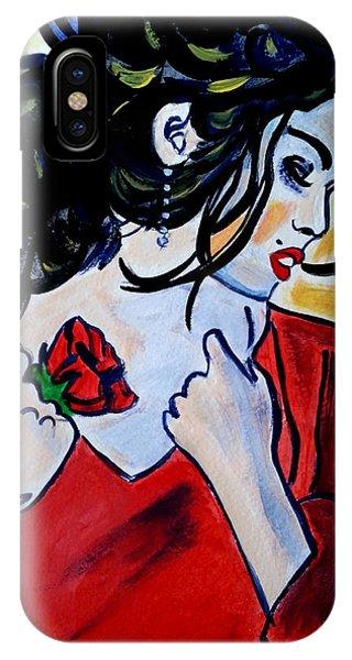 Spanish Rose IPhone Case