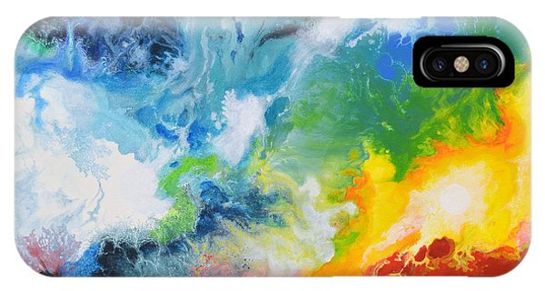 Spark Of Life Canvas Two IPhone Case