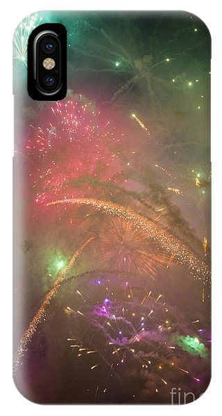 Sparked Sky IPhone Case