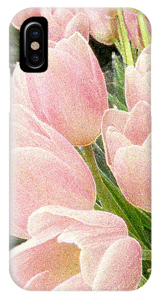 Sparkling Tulips IPhone Case