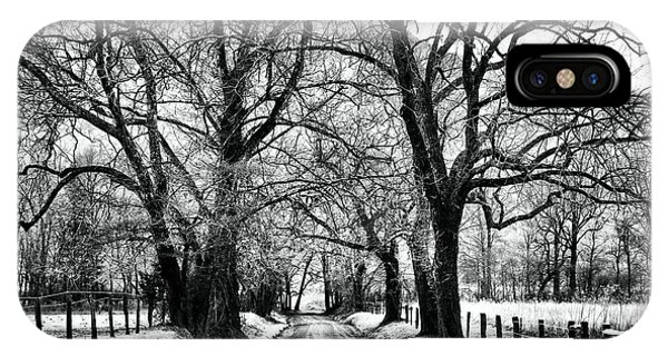 Sparks Lane During Winter IPhone Case