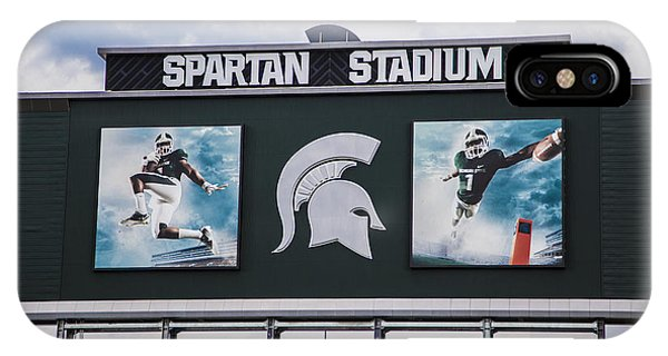 Spartan Stadium Scoreboard  IPhone Case
